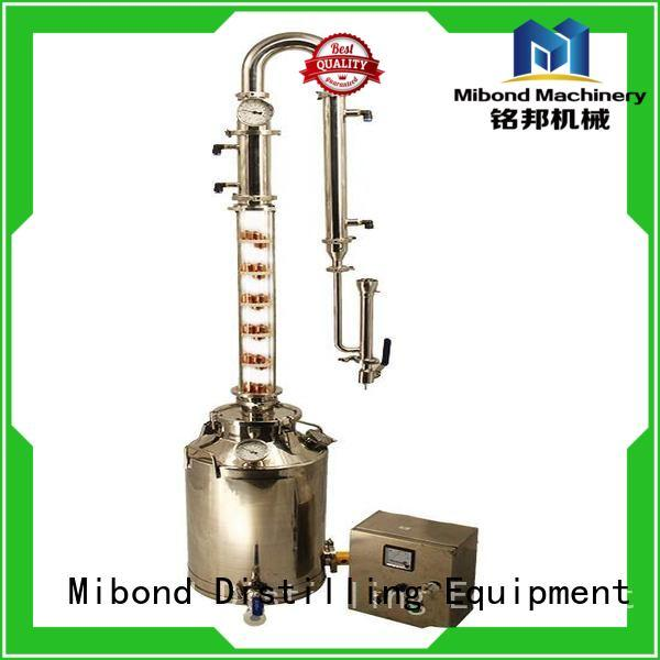 Mibond glass distillation column customized for family