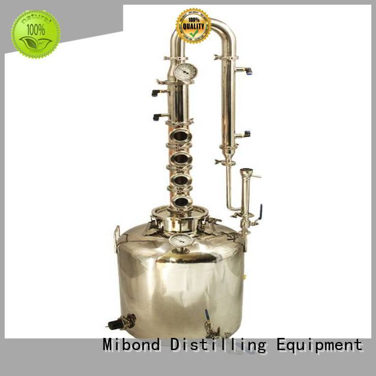 high effective copper pot distillery wholesale for whisky
