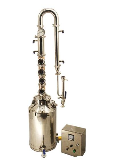 50L 13 Gallon Copper Distillation Equipment for home distilling Whiskey