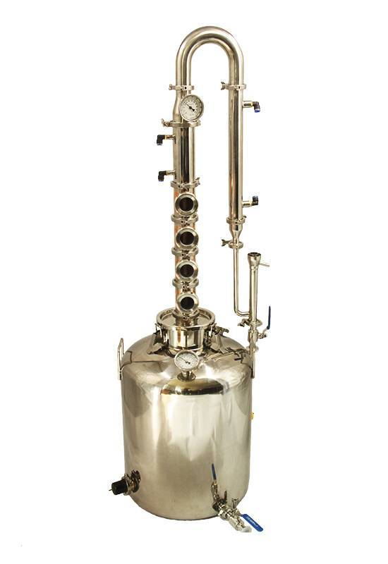 26 Gallon Copper pot distillation homemade distiller