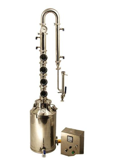 13 Gallon Stainless Steel Pot Still for Home Whiskey and Moonshine Distillation