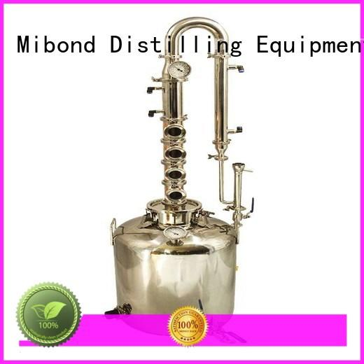 Mibond wine copper moonshine still factory direct for vodka