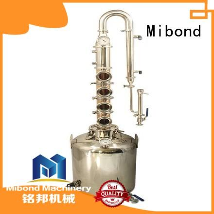 Mibond copper column still manufacturer for home distilling
