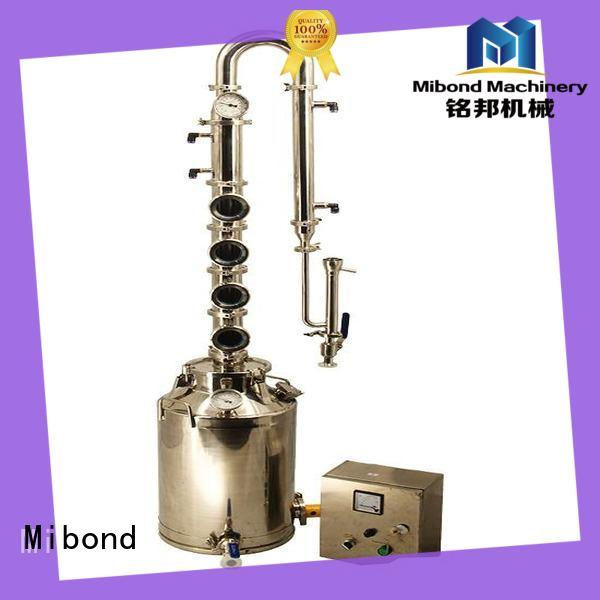 Mibond gin micro distillery equipment manufacturer for whisky