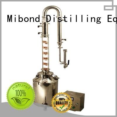 glass column wine distilling kit heating tube for home distilling Mibond