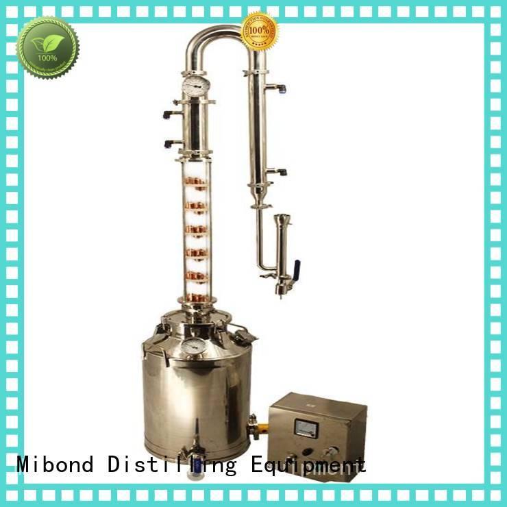 Mibond beautiful alcohol distillation supplies supplier for distillery
