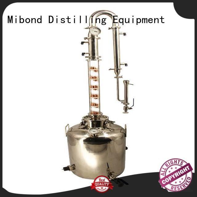 glass column glass distillation column heating tube for whisky Mibond