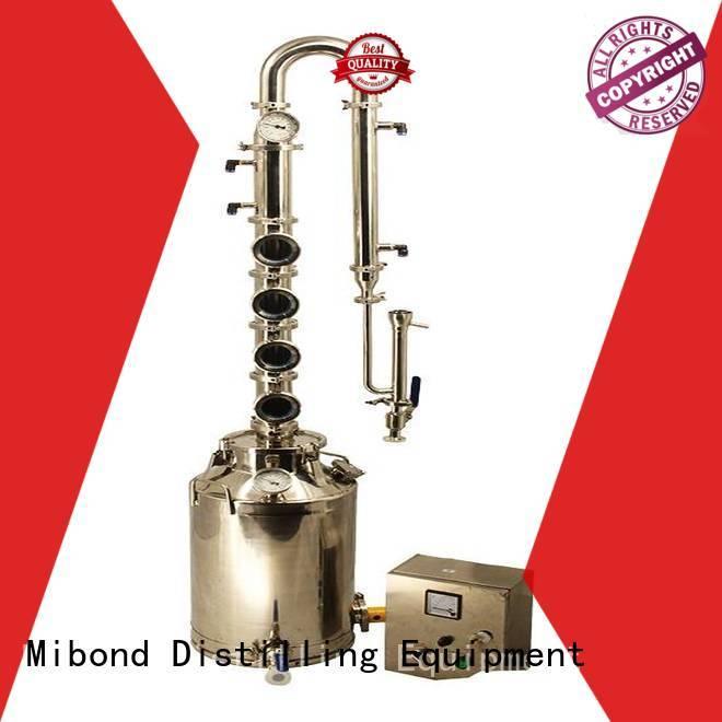 Mibond stainless pot still supplier for vodka
