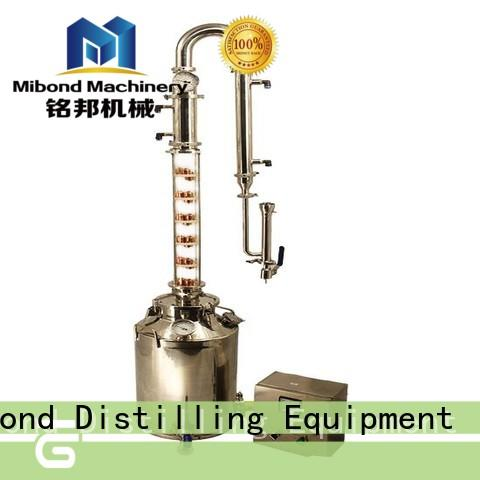50L Glass Column vodka distillery pot distillation pot distillation