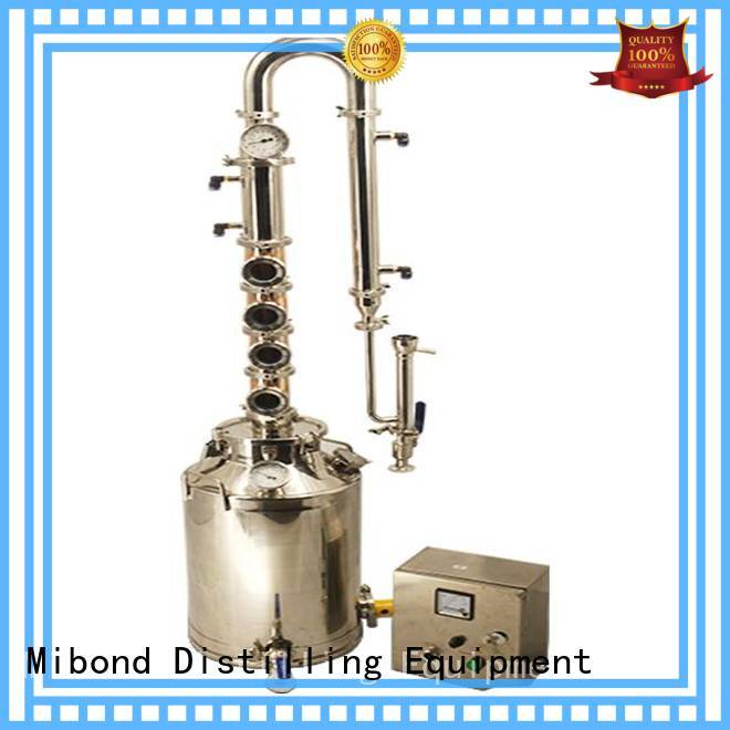 Mibond hot selling whisky distillation equipment supplier for home distilling