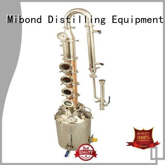 Mibond professional copper column still wholesale for distillery