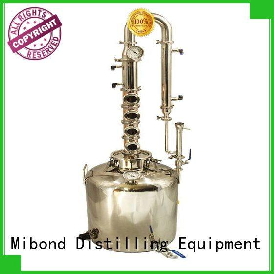 Mibond high effective distilling equipment factory direct for home distilling