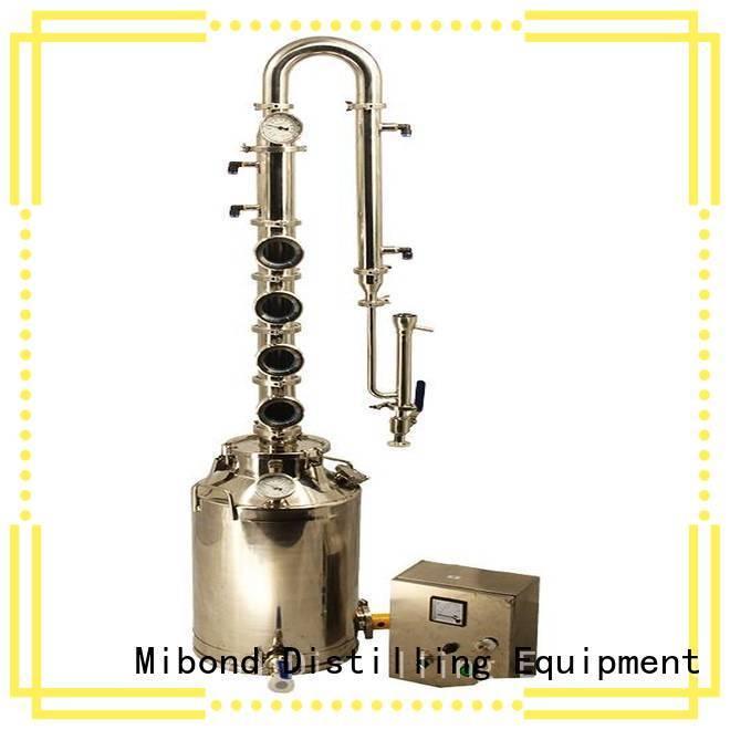 Mibond micro distillery equipment customized for vodka