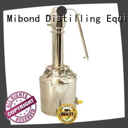 Mibond alcohol alcohol making equipment manufacturer for distillery
