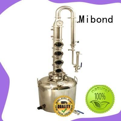 Mibond stainless steel pot still customized for family