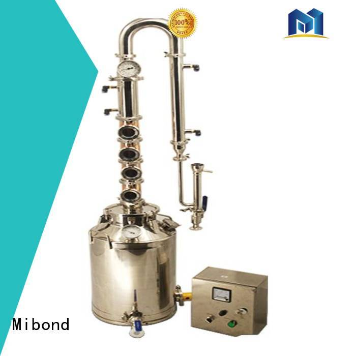 Mibond small copper distiller suppliers for vodka