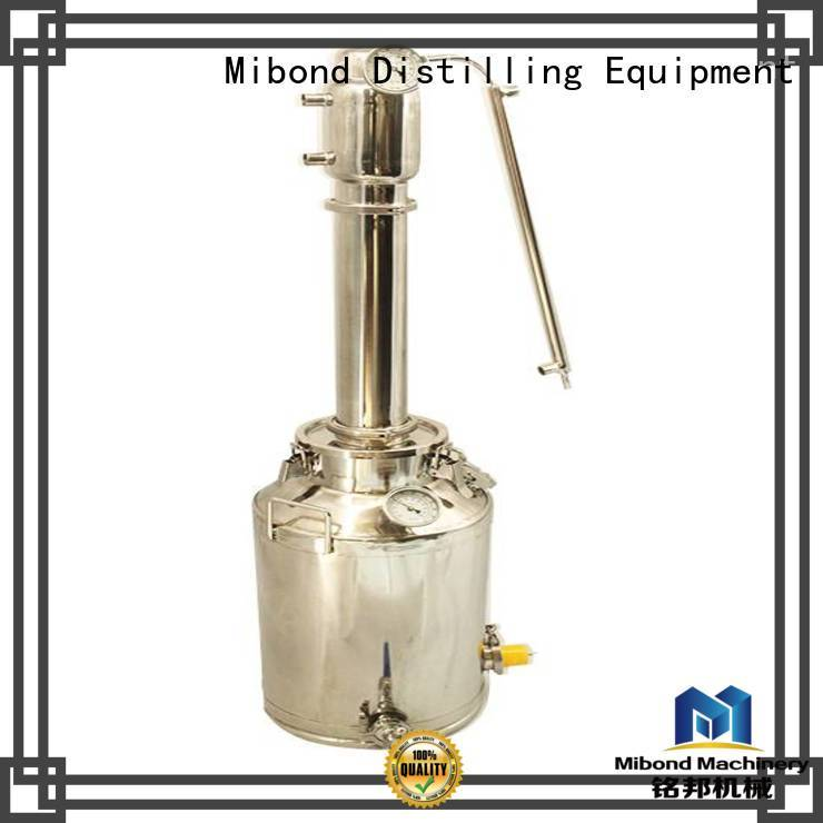 Mibond easy-to-use pot still directly sale for vodka