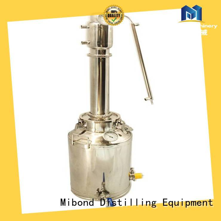 Mibond moonshine pot still customized for family