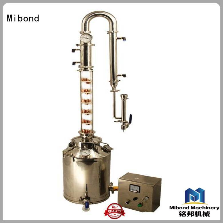 all-glass distiller customized for whisky Mibond