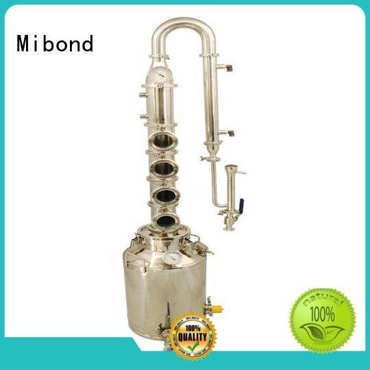 Mibond bourbon stainless distiller supplier for home distilling