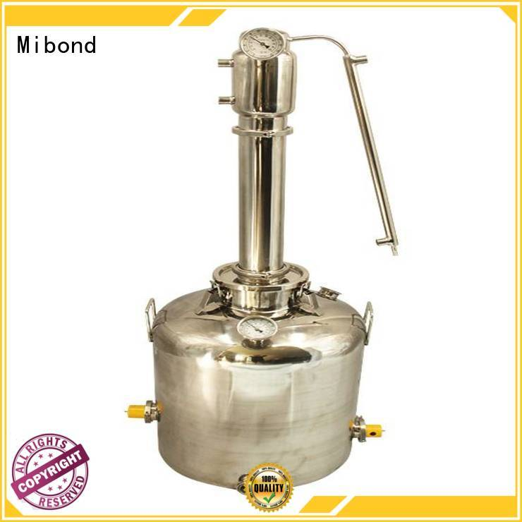 Mibond homemade alcohol distiller customized for distillery