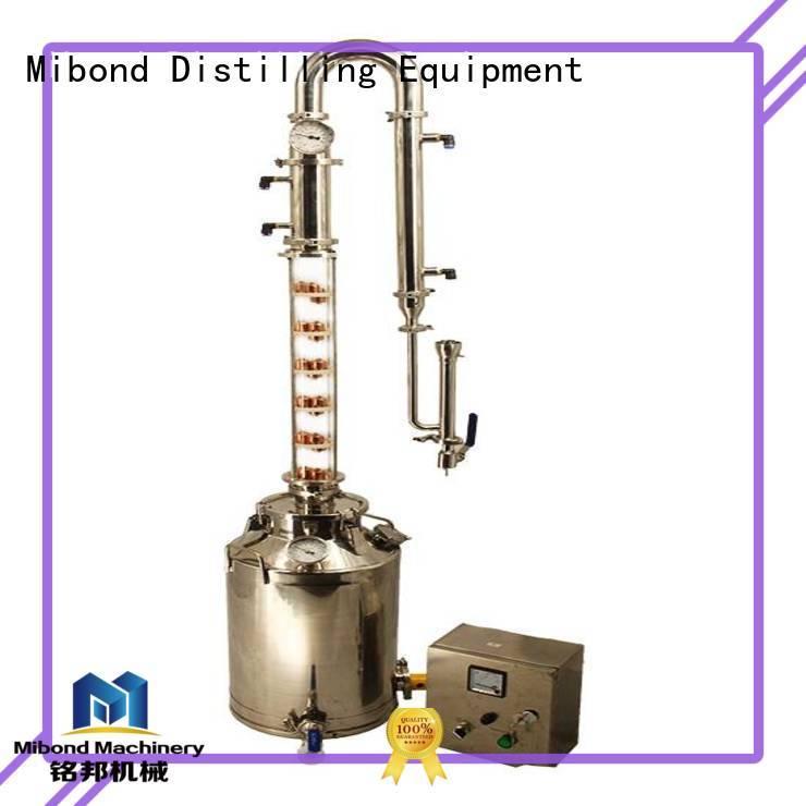 50L Glass Column vodka distillery pot distillation pot distillation