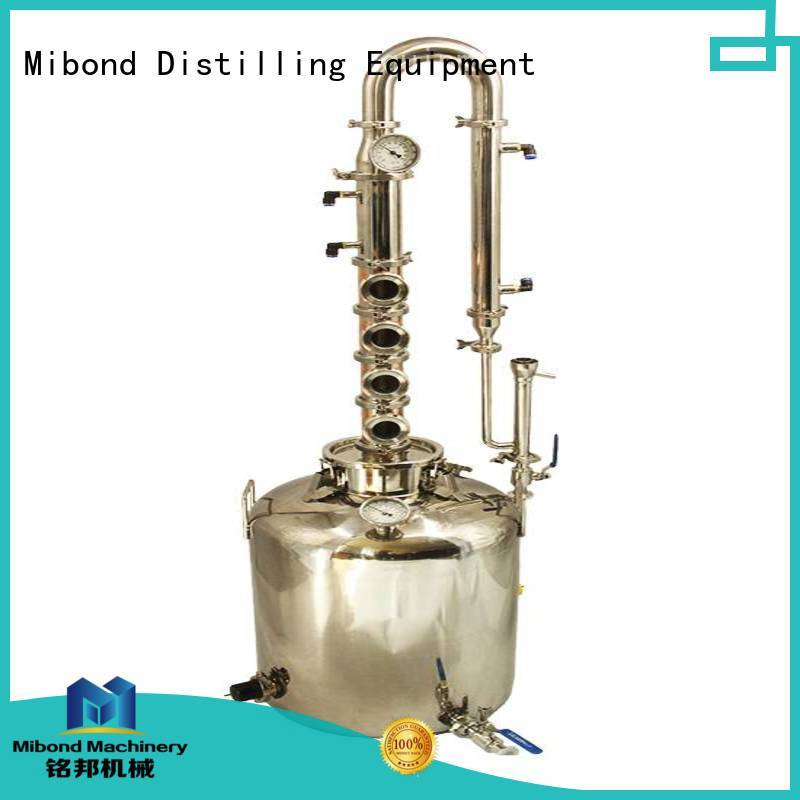 Mibond copper pot distillery manufacturers for family