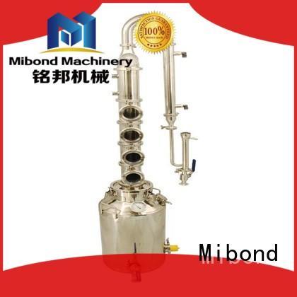 Mibond stainless steel moonshine still customized for whisky