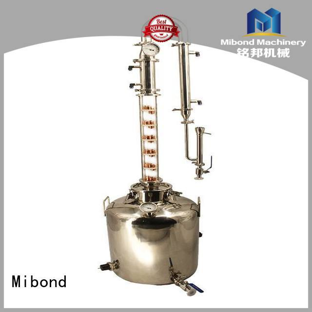 convenient all-glass distiller factory price for vodka