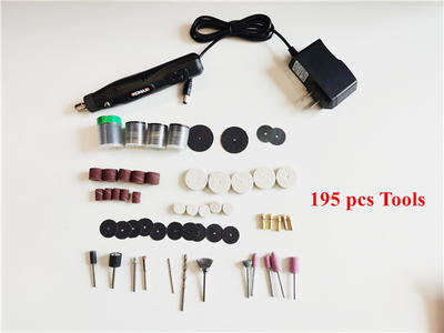 Mini Electric Grinder with 195 pcs tools
